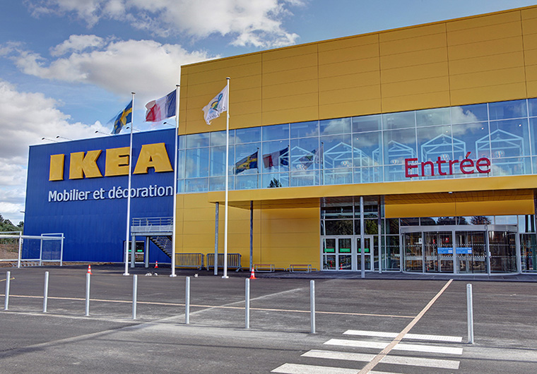 Ikea Orléans Ardon Massive Energy Savings Climotion